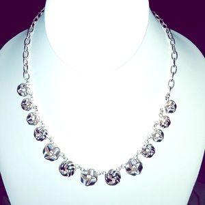 Jewelry - Dillard's Silver Knots Necklace